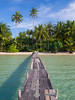 The beach of Ngamkho Bay, Koh Kut (TeunJanssen) Tags: kohkood kohkut thailand southeastasia asia island beach backpacking travel traveling olympus omd omdem10 palm palmtrees ocean sea pier ngamkhobay paradise