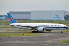 China Southern Cargo B-2075 Boeing 777-F1B cn/37312-820 @ EHAM / AMS 12-10-2016 (Nabil Molinari Photography) Tags: china southern cargo b2075 boeing 777f1b cn37312820 eham ams 12102016