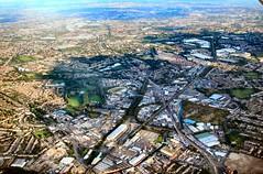 Birmingham in the evening (John McLinden) Tags: birmingham evening view flight ga generalaviation airuk ukair c152 cessna gtalc staffordshire wolverhampton