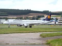 Lufthansa Regional / Lufthansa Cityline                                                Embraer 190                                       D-AECA (Flame1958) Tags: lufthansa lufthansaregional lufthansacityline cityline embraer190 e190 190 embraer daeca abz egpd 240817 0817 2017 0310 aberdeen aberdeenairport