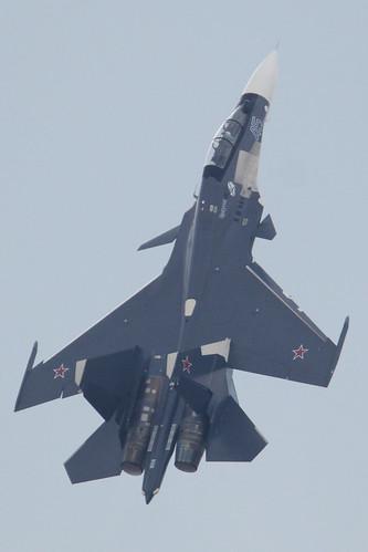 """Sukhoi Su-30SM '45 blue' """"Иркутск"""""""