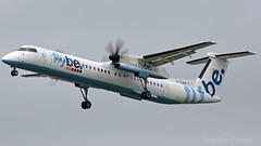 Flybe Bombardier Dash 8-Q400 G-FLBA (StephenG88) Tags: londonheathrowairport heathrow lhr egll 27r 27l 9r 9l boeing airbus august21st2017 21817 myrtleavenue premierinnheathrow terminal5 t5 flybe bee be bombardier dash8 q400 dhc8q402 gflba