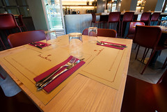 _DSC2037 (fdpdesign) Tags: pizzamaria pizzeria genova viacecchi foce italia italy design nikon d800 d200 furniture shopdesign industrial lampade arredo arredamento legno ferro abete tavoli sedie locali