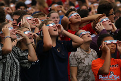 Students Marvel at the Solar Eclipse on August 21, 2017 (Daniel M. Reck) Tags: dmrfeature dmrphoto hinsdale hinsdalecentralhighschool illinois stem astronomy eclipse education looking science solareclipse students sun sunglasses watching unitedstates news awesome awed awe jawdropping stunned surprise