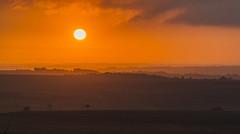 Sunrise (l4ts) Tags: landscape derbyshire peakdistrict darkpeak whiteedge moorland bigmoor easternmoorspartnership goldenhour sunrise holmesfield whiteedgetrigpoint