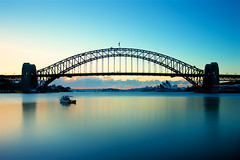 Blues Point Hues (radio4) Tags: sunrise sydneyharbourbridge longexposure mcmahonspoint sydney nsw australia