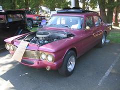 1961 Dodge Lancer (Hugo-90) Tags: monroe washington car auto automobile swap meet flea market 1961 dodge lancer drag dragster race