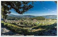 """""""Redondela"""" (Gerkraus) Tags: galicia redondela riasbaixas panoramica verano vigo pontevedra spain viladosviaductos"""