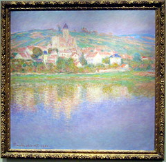 Vetheuil - Claude Monet (alplatt) Tags: artinstitute chicago artinstituteofchicago chicagoartinstitute art institute framed museum