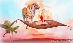 Magic Carpet Series  1 (5) (Poppys_Second_Life) Tags: 1001nights 2l arabiannights fantasy flyingcarpet magiccarpet myth onethousandandonenights picsbyⓟⓞⓟⓟⓨ popi popisadventuresin2l popikone popikonesadventuresin2l poppy sl secondlife virtualphotography desert tiger ألفليلةوليلةalflaylawalayla