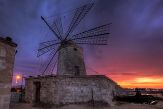 L'alba al mulino