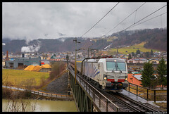 Lokomotion 193 772, Bischofshofen 18-03-2017 (Henk Zwoferink) Tags: bischofshofen salzburg oostenrijk at henk zwoferink lokomotion lomo lm alpen express railexperts re 193 772 siemens vectron x4e euroexpress euro eetc salzach