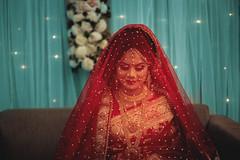 Nowran (RoUcY1) Tags: bd bangladeshi bride sharee sari traditional festive red dress biye ceremony wedding smile simplicity portrait muztoba rabbani