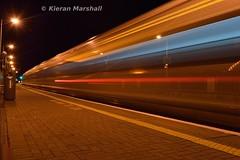 22014 departs Portarlington, 6/9/17 (hurricanemk1c) Tags: railways railway train trains irish rail irishrail iarnród éireann iarnródéireann 2017 22000 rotem icr rok 4pce 22014 1815westportheuston portarlington