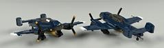CV-28 Nariz (John Moffatt) Tags: lego plane bomber torpedo fixed gear blue naval