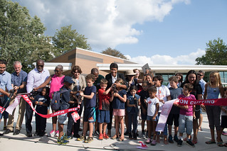 Turtle Park Ribbon Cutting