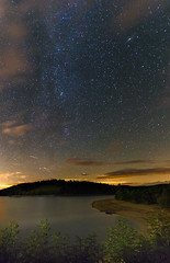 M31 Andromeda (benitoorion) Tags: lac lacdepareloup m31 andromeda galaxy solarsystem astronomy longexposure panorama france aveyron rodez sallescuran landscape countryside lake occitanie fr midipyrenees