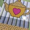 Panos de copa (Criação Exclusiva da Ane) Tags: patchwork panodeprato aplicação artesanato apliquê buledechá bule kitchen cozinha