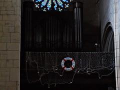 22 - Le Tréport, Eglise Saint-Jacques, Orgue (melina1965) Tags: normandie seinemaritime août august 2017 nikon d80 letréport église églises church churches orgue orgues organ organs vitrail vitraux stainedglasswindow stainedglasswindows
