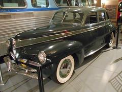 1941 Studebaker Commander (splattergraphics) Tags: 1941 studebaker commander unrestored garagefindsunrestoredtreasuresthatsurvivedtime museum exhibit aacamuseum hersheypa