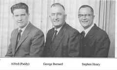 Alfred William L, George Bernard Jr and Stephen Henry Mahon