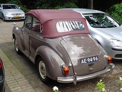 1966 Morris Minor 1000 Convertible (Skitmeister) Tags: ae9496 car auto carspotting nl netherlands nederland skitmeister
