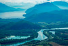 Lake and river together (skweeky ツ) Tags: bourget lac lake rhone river fleuve aix les bains parking viewpoint point de vue foggy hard light fenestrez