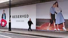 Reserved - John Prince's Street (stevedexteruk) Tags: johnprincesstreet london marylebone bhs advertising fashion reserved