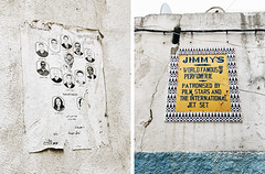 Ads (tropeone) Tags: tanger morocco sign ad advert street africa