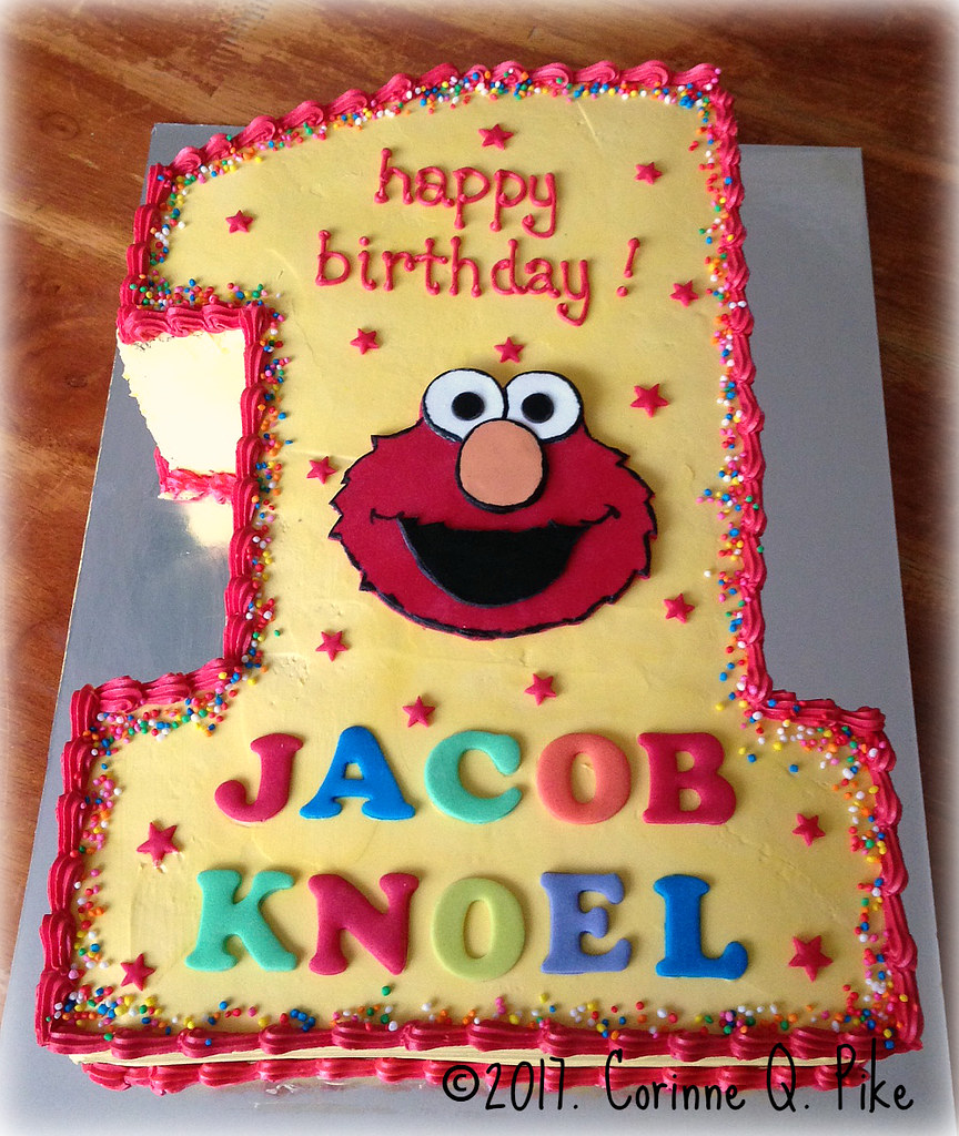 The World's Best Photos Of Cake And Elmo