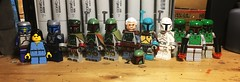 Like Father, Like Son (LordAllo) Tags: lego star wars attack the clones empire strikes back return jedi jango fett boba concept art trading card holiday special mandalorian jabbas prize sail barge slave 1 ralph mcquarrie
