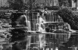 A Little Man Made Waterfall