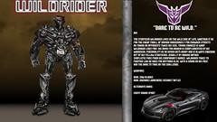 Live Action Wildrider Bio (Barricade24) Tags: transformers movie decepticon stunticon wildrider bio art artwork fanart