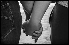 Love (Ramon Quaedvlieg Photo) Tags: love hands beachwalk mother daughter people blackandwhite blackandwhitephotography fingers monochrome greyscale shadowplay noordwijkerhout beach netherlands zuidholland