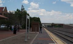 Las Vegas, NM Southwest Chief (# 1042) (DB's travels) Tags: aznmco0617 amtrak newmexico southwestchief depot
