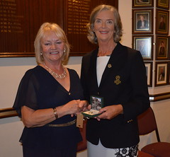 Lady Captain Mrs Florence Rankin's Captains Day Presentation