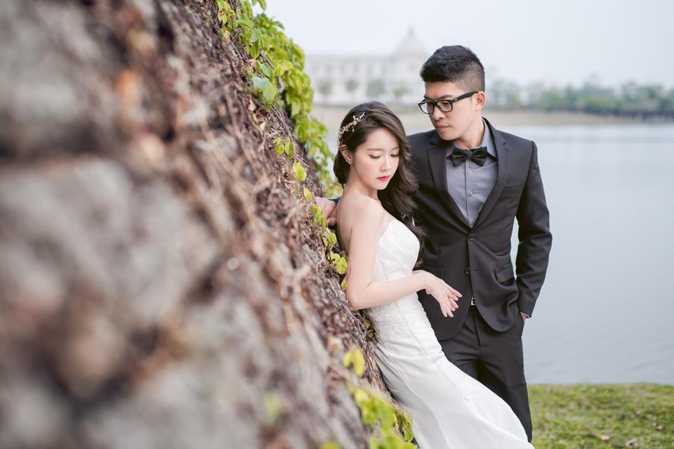 台南自助婚紗 奇美博物館 婚紗作品 Abby 032