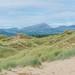 Mountains from Harlech Beach Dunes