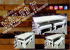 3 Garden Table 4 seater (Nailed-It Pallet Furniture) Tags: palletfurnituredurban palletwoodfurniture naileditpalletfurniture outdoorfurniture pallet