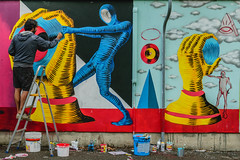 SDNZ M 042B_002106 (Darkly B) Tags: underground culture murales hip hop subsidenze festival ravenna 2015 street art graffiti tag arte strada streetphotography