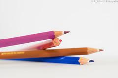 Macro Monday #HighKey #Buntstifte (ramonaschmitt) Tags: nikond3300 tamronspaf90mmf28dimacro11272nii macromondays highkey bunt buntstifte farbenspiel farbenfroh farbig farbe weis blau lila rot braun bokeh licht schatten aufbau fantasie inside paint