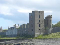 Thurso Castle, Thurso, August 2017 (allanmaciver) Tags: thurso castle caithness scotland sinclair ruin roofless position harbour allanmaciver weather warm