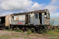 066. 08442 at Eastleigh (ArrivaTC). 17-Aug-17. Ref-D134-P066 (paulfuller128) Tags: class 08 shunter jocko pilot shunt british railways