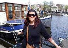 Amsterdam-May'17 (145) (Silvia Inacio) Tags: holland holanda thenetherlands amsterdam amesterdão canal boat barco silvia