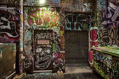 2017 Melbourne Street Art Walkaround (Crouchy69) Tags: street art graffiti graffitti artwork urban scrawl tag burner paste up decal laneway melbourne australia
