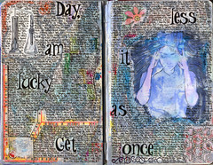 The Challenge of Getting Well (A J Tallman (AnicaAnscott)) Tags: artjournal artjournaling diary handwriting detox alcoholism sobriety eatingdisorders anorexia personalstory journalentry mixedmedia moleskine depression bodyimage mentalillness textbasedartwork