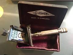 1934 Gillette New Razor - Made in England