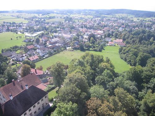 Andechs - vista dal campanile della Wallfahrtskirche St. Nikolaus und Elisabeth