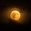 Sturgeon Moon (jamesridle) Tags: moon fullmoon grainmoon sturgeonmoon sturgeon montana helena montanamoment visitmt sky smoke moonrise