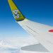 Flying over summer cloud / 夏の雲のフライト (yanoks48) Tags: airplanewindow 飛行機 cloud 雲 sky 空